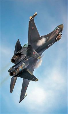 Sukhoi Flanker-E - Russian Air Force Sukhoi Su 35, Su27 Flanker, Tomcat F14, Russian Fighter Jets, Russian Military Aircraft, Photo Avion, Russian Air Force, Air Fighter, Military Jets