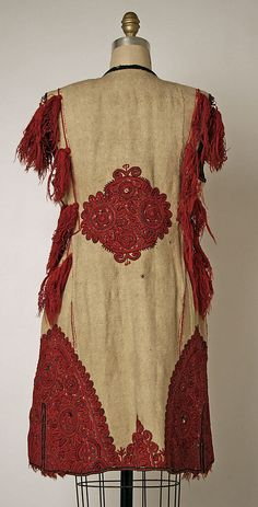 19th century Culture: Serbian Medium: wool Dimensions: Length at CB: 35 in. (88.9 cm) Credit Line: Gift of Mrs. M. A. Gordon, 1948 Accession Number: C.I.48.37.5