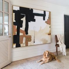 Tough choice on a fave here since oversized art and dogs top my personal & list! 🐶🖤👍🏻 // via: The post Tough choice on a fave here since oversized art and dogs top my personal & & appeared first on Decor by Joe Rivas. Painting Inspiration, Art Inspo, Ideias Diy, Abstract Canvas Art, Arte Popular, Texture Art, Design Art, Art Photography, Large Artwork