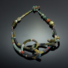 Coil Necklace #3 by Julie Powell.