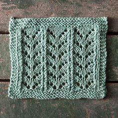 Ricochet Lace Dishcloth - Knitting Patterns and Crochet Patterns from KnitPicks.com