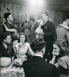 Teen party, 1940s