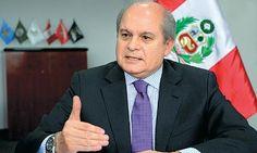 """Entrevista Pedro Cateriano: """"Asumo el Consejo de Ministros en una situación compleja y difícil"""""""