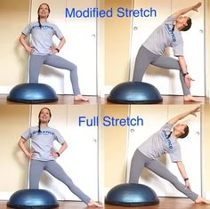 May's third stretch of the week is taken from yoga, called the Gate Pose. This stretch targets the sides of the body and inner thighs. Spin Bike Workouts, Chest Workouts, Outdoor Workouts, Open Water Swimming, Swimming Tips, Swimming Workouts, Bosu Workout, Triceps Workout, Cycling Workout