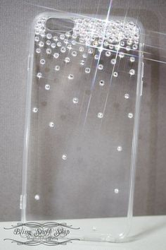 Swarovski crystal Sparkling Top Transparent Back Case Cover for * iPhone 6 Plus #UnbrandedGeneric