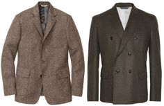 Tweed Sport Coats - Tweed Jackets for Thanksgiving - Esquire