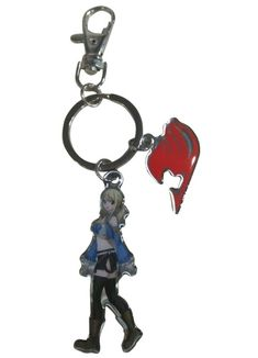 Department is Merchandise, Others, Key chains, Straps. Primary color is Red. Publisher is GE Animation. Series is Fairy Tail Fairy Tail Keys, Fairy Tail Lucy, Metal News, Amazing Cosplay, Primary Colors, Cosplay Costumes, Key Chain, Red, Logo