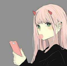 darling in the franxx Manga Girl, Manga Anime, Kawaii Anime Girl, Anime Art Girl, Anime Shop, Desu Desu, Zero Two, Best Waifu, Darling In The Franxx