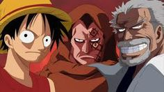 Luffy's family. His dad is the most wanted person in the whole world. and his grandfather is the most legendary figure in the marines.