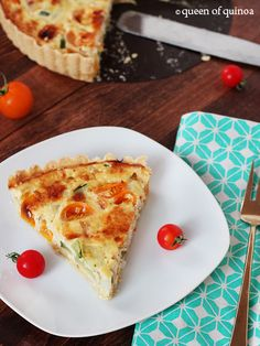 Zucchini & Goat Cheese Tart Recipes Have it for a healthy weekend brunch or an easy week night meal. Quiche Recipes, Tart Recipes, Free Recipes, Cheese Tarts, Goat Cheese, Zucchini Cheese, Almond Milk Cheese, Gluten Free Pie Crust, Skinny Recipes