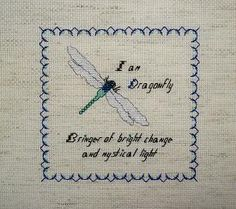 dragonfly cross stitch patterns - Bing Imágenes