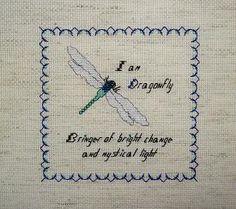 dragonfly cross stitch patterns - Bing Imágenes
