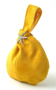 yellow purse wristlet bag clutch bag wristlet clutch