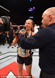 The champion is interviewed after her latest victory in the octagon in Rio de Janeiro at UFC 190... 01-08-2015