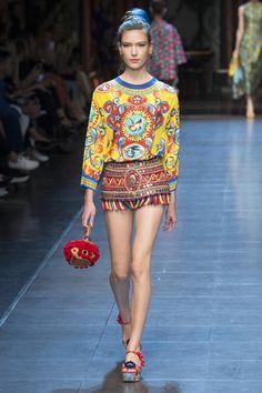 Dolce & Gabbana Spring/Summer 2016 RTW.