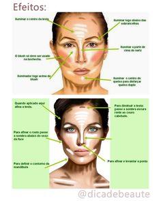 TUDO SOBRE CONTORNO FACIAL (contouring) Olá meninas, tenho recebido muitasss perguntas sobre contorno facial. Todo mundo já viu a mágica que esse truque de maquiagem faz né?! As fotos de 'ante e de...