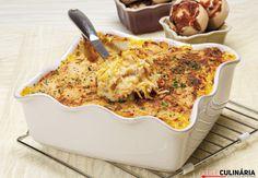 Receita de Bacalhau de verdura. Descubra como cozinhar Bacalhau de verdura de maneira prática e deliciosa com a Teleculinária!