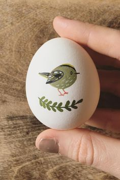 Illustrated egg art #Easter
