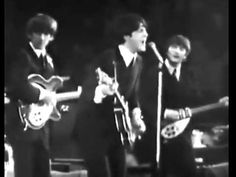 The Beatles - Can't Buy Me Love - Love watching Paul sing this. So Fun! ... :))