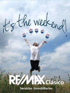 Feliz fin de semana! #HappyWeekend #REMAX