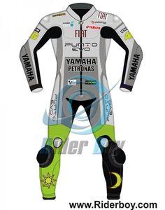 Valentino Rossi Yamaha Fiat 2009 Leathers Suit