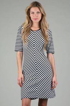 Suzabelle - Altamira Chevron Dress