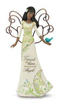 Friends Ebony Perfect Paisley Angel Figurine