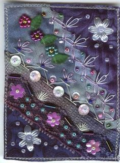 crazy quilt atc | Flickr - Photo Sharing!