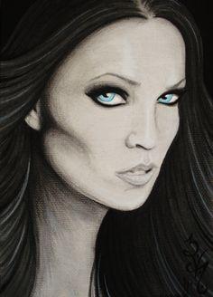 Dark Star © 2011 Natalie VonRaven    Iconic Portrait #6 #Tarja #Turunen #Nightwish