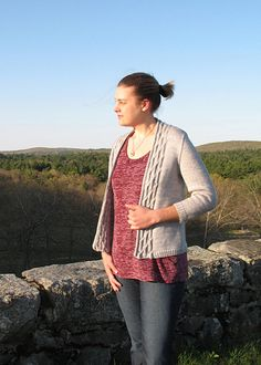 Goodnough Cardigan Knitting Pattern by bluepeninsula on Etsy