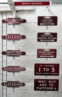 old railway sign - Google Search