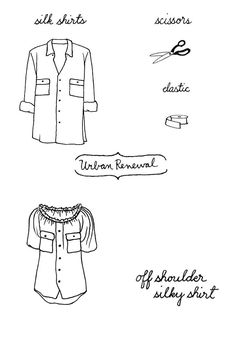 ! #tutorial #sew #sewing #refashion #recycle #urban_renewal #upcycle