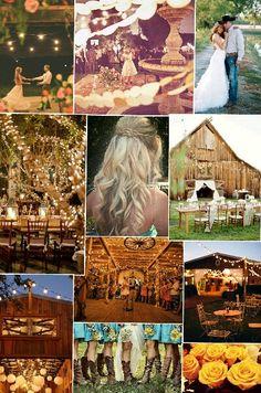 Country weddings <3