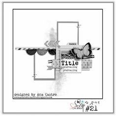 Ana Castro: Scrap & Music ... sketch # 21