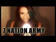 The White Stripes: Seven Nation Army - Alycia Marie Alycia Marie, Seven Nation Army, The White Stripes, Youtube, Youtubers, Youtube Movies