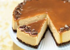 caramel snickers cheesecake