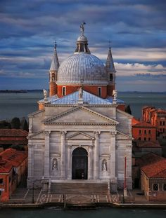 Church of the Most Holy Redeemer, Venice, Italy. A 16th century Roman Catholic church designed by Andrea Palladio in 1577