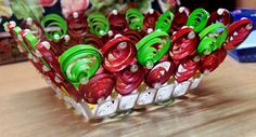 QUICAN028 - intricated red n green spirals_a   Pooja Ghosh   Flickr