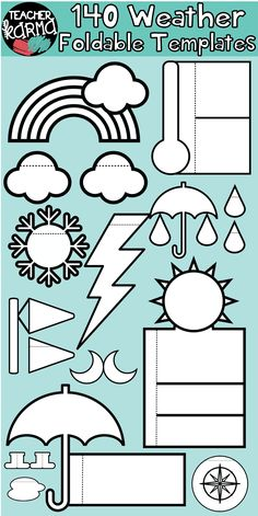 Free Flip Book Template for Teachers Of Weather 140 Foldables Interactives Flip Book Templates Preschool Science, Teaching Science, Teaching Resources, Classroom Resources, Teaching Ideas, Science Worksheets, Science Lessons, Flip Book Template, Creative Activities For Kids