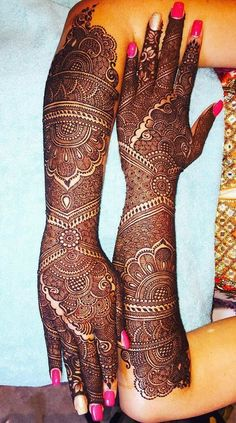 Top 35 Bridal Mehndi designs for full hands and legs For Women 2019 – My Stylish Zoo Henna Hand Designs, Mehndi Designs Finger, Mehndi Designs For Girls, Mehndi Designs 2018, Unique Mehndi Designs, Mehndi Design Pictures, Mehndi Images, Dulhan Mehndi Designs, Mehandi Designs