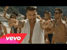 "Check out the new music video from Ricky Martin for his 2014 World Cup song ""Vida""! Ricky Martin, Spanish Music, Latin Music, Just Dance, Hat World, Carlo Rivera, Music Clips, Kinds Of Music, My Favorite Music"