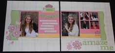 Noreen's Chat: Lucy Scrapbook Layout