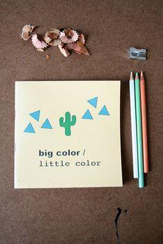 big color / little coloring book