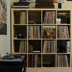 Record collection storage idea