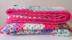 Crotchet Baby Blanket, Hand Knit Blanket, Toddler Blanket, Knitted Baby Blankets, Baby Shower Gifts, Baby Gifts, Vintage Nursery Decor, Red Blanket, Christening Gifts