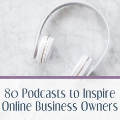 We've found that most best podcast lists tend to feature the same major players we've heard before. This HUGE list of podcasts for business owners has something new for everyone, at every stage of business. Creating A Business, Growing Your Business, Starting A Business, Business Planning, Business Tips, Online Business, Business Management, Business Attire, Time Management