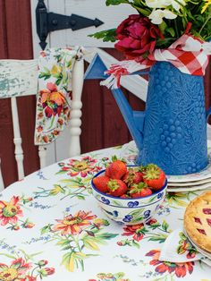 Friendship Tablecloth By April Cornell
