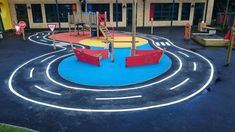 Thermoplastic Playground Roadway Markings in Down – Heat Applied Markings – Cat playground outdoor Playground Flooring, Cat Playground, Playground Design, Outdoor Playground, Playground Ideas, Physical Education Curriculum, Outdoor Education, Outdoor Paving, Dundee City