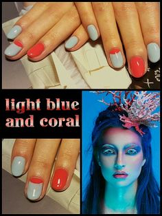 #light #blue #and #coral #colorfull #spring #sea #didierlab #no5 #no44