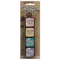 Tim Holtz Distress Ink Pad MINI KIT #4 TDPK40347